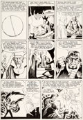 Original Comic Art:Panel Pages, Steve Ditko Strange Tales #117 Story Page 7 Doctor StrangeOriginal Art (Marvel, 1964)....