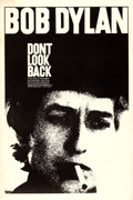 """Movie Posters:Rock and Roll, Don't Look Back (Leacock-Pennebaker, 1967). Fine/Very Fine on Linen. One Sheet (27"""" X 41"""").. ..."""