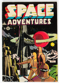 Space Adventures #5 (Charlton, 1953) Condition: FN-