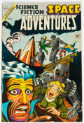Golden Age (1938-1955):Science Fiction, Space Adventures #10 (Charlton, 1954) Condition: VG/FN....