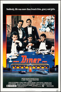 """Diner & Other Lot (MGM, 1982) Folded, Very Fine-. One Sheets (2) (27"""" X 41""""). Comedy.... (Total: 2 Items)"""