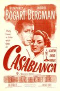 "Movie Posters:Academy Award Winners, Casablanca (Warner Brothers, R-1949). Fine/Very Fine on Linen.International One Sheet (27"" X 41"").. ..."