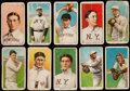 Baseball Cards:Lots, 1909-11 T206 Sweet Caporal or Piedmont Tobacco Collection ...