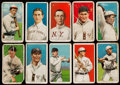 Baseball Cards:Lots, 1909-11 T206 Sweet Caporal or Piedmont Tobacco Collection (10) withKeeler & Scarce Backs. ...