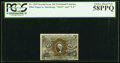 Fractional Currency:Second Issue, Fr. 1249 10¢ Second Issue PCGS Choice About New 58PPQ.. ...