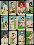 Baseball Cards:Lots, 1909-11 T206 Sweet Caporal or Piedmont Tobacco Collection (12) withTwo McGraw. ...