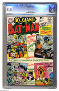 Batman #176 (DC, 1965) CGC VF+ 8.5 Off-white to white pages. Eighty-page Giant featuring a Joker cover and story, and re...