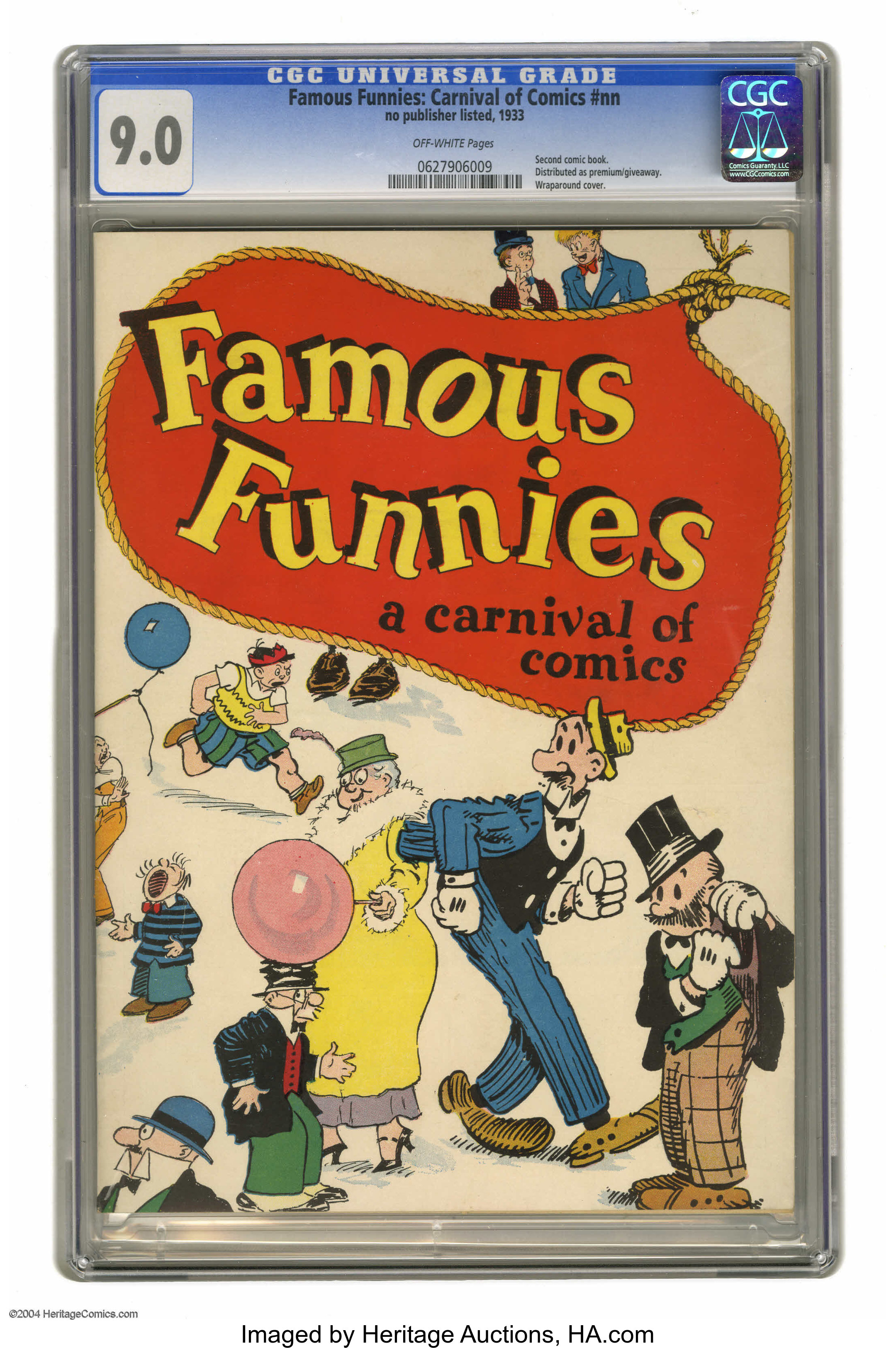 Famous Funnies: Carnival of Comics #nn (Eastern Color, 1933