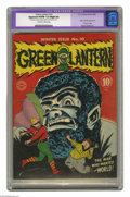Golden Age (1938-1955):Superhero, Green Lantern #10 (DC, 1943) CGC Apparent VG/FN 5.0 Slight (A) Off-white to white pages. Origin and first appearance of Vand...