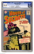 Silver Age (1956-1969):Horror, House of Secrets #1 (DC, 1956) CGC VG/FN 5.0 Off-white pages. RubenMoreira cover. Bernard Baily, Mort Drucker, Jim Mooney, ...