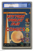 Golden Age (1938-1955):Superhero, New York World's Fair Comics #1939 (DC, 1939) CGC VG 4.0 Cream to off-white pages. This issue is listed at number 32 in Over...