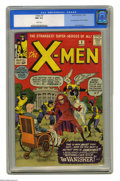 Silver Age (1956-1969):Superhero, X-Men #2 (Marvel, 1963) CGC NM 9.4 White pages. The X-Men make onlytheir second appearance, and they have to protect the Wh...
