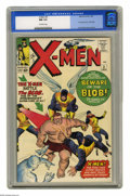 Silver Age (1956-1969):Superhero, X-Men #3 (Marvel, 1964) CGC NM 9.4 Off-white pages. The third issue for the Merry Mutants brought the first appearance of th...