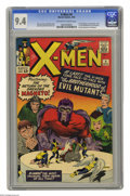 Silver Age (1956-1969):Superhero, X-Men #4 (Marvel, 1964) CGC NM 9.4 Off-white to white pages. In addition to impressively brilliant color and gloss, and Jack...