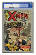 Silver Age (1956-1969):Superhero, X-Men #6 (Marvel, 1964) CGC NM 9.4 Off-white pages. The Brotherhoodof Evil Mutants appears, and their leader Magneto has a ...