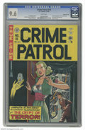 Golden Age (1938-1955):Crime, Crime Patrol #16 Gaines File pedigree 3/11 (EC, 1950) CGC NM+ 9.6 White pages. This was the last issue of this series before...