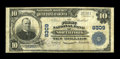 National Bank Notes:West Virginia, Northfork, WV - $10 1902 Plain Back Fr. 626 The First NB Ch. #8309. ...