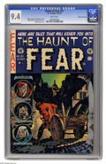 Golden Age (1938-1955):Horror, Haunt of Fear #21 Gaines File pedigree 1/10 (EC, 1953) CGC NM 9.4White pages. This issue had an unusual artistic team-up be...