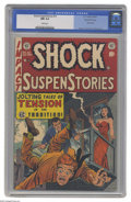Golden Age (1938-1955):Horror, Shock SuspenStories #10 Gaines File pedigree 3/12 (EC, 1953) CGC NM9.4 White pages. EC's regular artists were all great, bu...