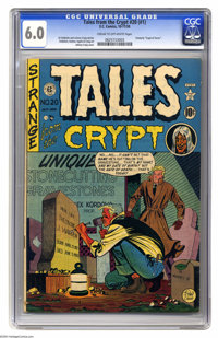 Tales From the Crypt #20 (EC, 1950) CGC FN 6.0 Cream to off-white pages. First issue of this title, which was formerly C...