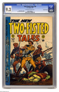 """Golden Age (1938-1955):War, Two-Fisted Tales #38 Gaines File pedigree (EC, 1954) CGC NM- 9.2 Off-white to white pages. The term """"war comics"""" customarily..."""