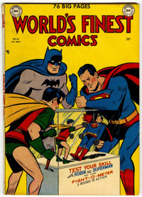 World's Finest Comics #45 (DC, 1950) Condition: VG/FN