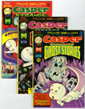 Bronze Age (1970-1979):Cartoon Character, Casper Strange Ghost Stories Group (Harvey, 1974-75) Condition:Average VF/NM.... (Total: 5 Comic Books)