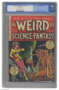 Golden Age (1938-1955):Science Fiction, Weird Science-Fantasy Annual #1 (EC, 1952) CGC VF+ 8.5 Light tan to off-white pages. This annual contains four complete EC s...