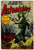 Golden Age (1938-1955):Science Fiction, Astonishing #46 (Atlas, 1946) Condition: VG+....
