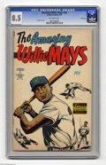 Golden Age (1938-1955):Non-Fiction, The Amazing Willie Mays #nn File Copy Plus Bonus Memorabilia(Famous Funnies, 1954) CGC VF+ 8.5 Off-white pages. In addition...