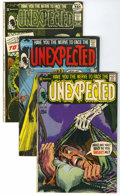 Bronze Age (1970-1979):Horror, Unexpected Group (DC, 1971-80) Condition: Average VF+.... (Total:12 Comic Books)