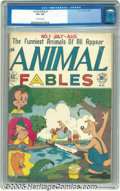 Golden Age (1938-1955):Funny Animal, Animal Fables #1 (EC, 1946) CGC VF+ 8.5 Off-white pages. EC wenteasy on the modesty when they launched this title, claiming...