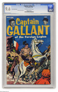 Golden Age (1938-1955):War, Captain Gallant #1 Heinz Foods Premium (Charlton, 1955) CGC NM+ 9.6 Off-white to white pages. Don Heck cover and art. Buster...