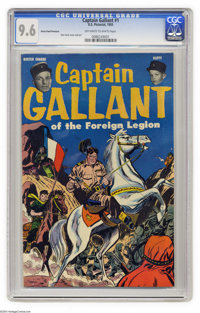 Captain Gallant #1 Heinz Foods Premium (Charlton, 1955) CGC NM+ 9.6 Off-white to white pages. Don Heck cover and art. Bu...