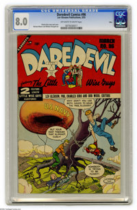 Daredevil Comics #96 Ohio pedigree (Lev Gleason, 1953) CGC VF 8.0 Off-white to white pages. Charles Biro cover and art...