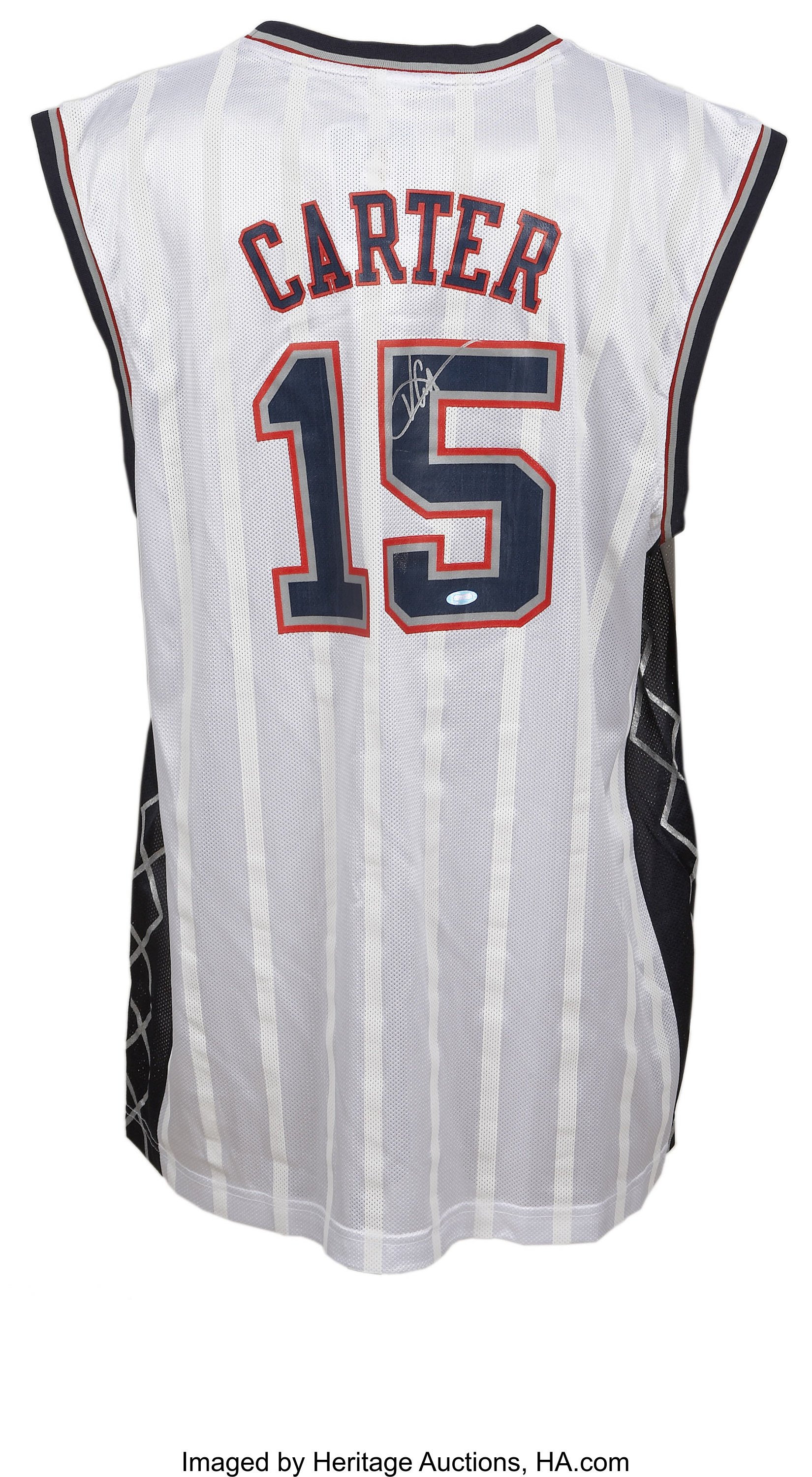 new arrivals 56cce 7dc14 Vince Carter Signed Jersey. Ridiculous athlete Vince Carter ...