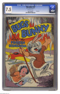 Golden Age (1938-1955):Funny Animal, Four Color #164 Bugs Bunny Finds The Frozen Kingdom (Dell, 1947)CGC VF- 7.5 Off-white pages. Overstreet 2004 VF 8.0 value =...