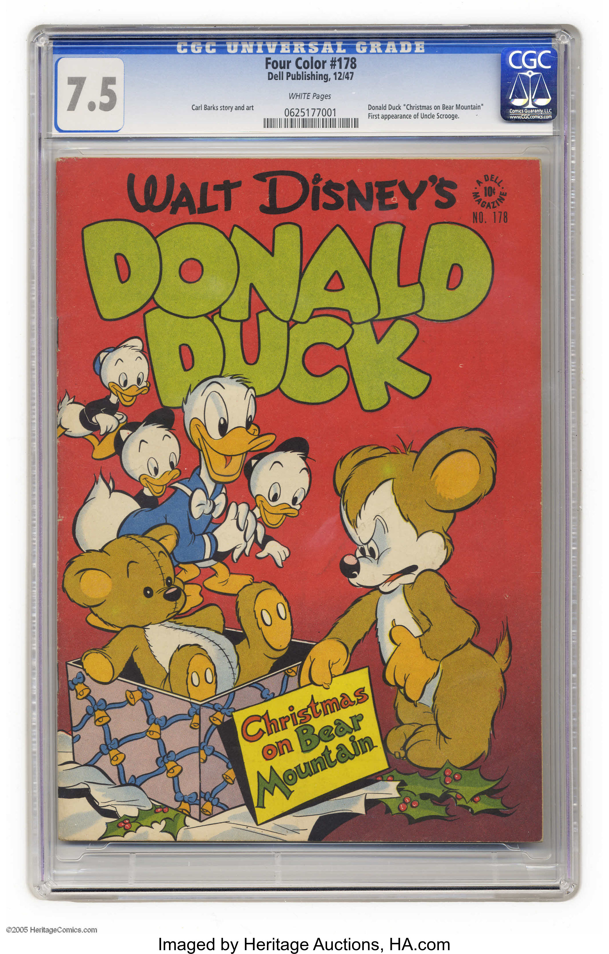 Four Color #178 Donald Duck in