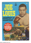 "Golden Age (1938-1955):Miscellaneous, Joe Louis #2 (Fawcett, 1950) Condition: VF-. Champion boxer Joe Louis was affectionately known as the ""Brown Bomber"" and the..."