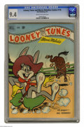 Golden Age (1938-1955):Humor, Looney Tunes and Merrie Melodies Comics #116 (Dell, 1951) CGC NM 9.4 Cream to off-white pages. Overstreet 2004 NM- 9.2 value...