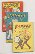 Golden Age (1938-1955):Miscellaneous, Misc. Small-Size Comics Golden Age Group (Various, 1940s) Condition: Average GD/VG. Here's a wild batch of pocket-size publi... (Total: 9 Comic Books Item)