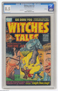 Golden Age (1938-1955):Horror, Witches Tales #13 File Copy (Harvey, 1952) CGC VF+ 8.5 Cream to off-white pages. Lee Elias cover. Overstreet 2004 VF 8.0 val...