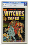 Golden Age (1938-1955):Horror, Witches Tales #14 File Copy (Harvey, 1952) CGC VF/NM 9.0 Cream tooff-white pages. Al Avison cover. Howard Nostrand, Rudy Pa...