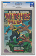 Golden Age (1938-1955):Horror, Witches Tales #18 File Copy (Harvey, 1953) CGC VF+ 8.5 Cream tooff-white pages. Lee Elias cover. Howard Nostrand art. Has a...