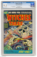 Golden Age (1938-1955):Horror, Witches Tales #20 File Copy (Harvey, 1953) CGC NM- 9.2 Cream tooff-white pages. Lee Elias, Howard Nostrand, and Bob Powell ...