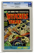 Golden Age (1938-1955):Horror, Witches Tales #20 File Copy (Harvey, 1953) CGC VF 8.0 Cream tooff-white pages. Lee Elias, Howard Nostrand, and Bob Powell a...