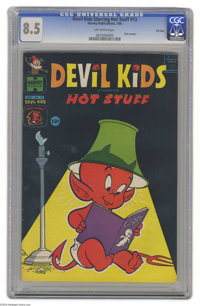 Devil Kids #13 File Copy (Harvey, 1964) CGC VF+ 8.5 Off-white pages. Starring Hot Stuff, the Little Devil. This is the o...