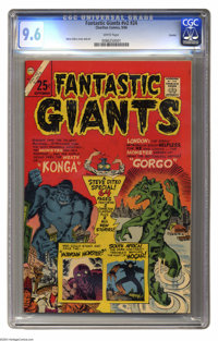 Fantastic Giants #24 Curator pedigree (Charlton, 1966) CGC NM+ 9.6 White pages. Giant with 64 pages. The only issue of t...