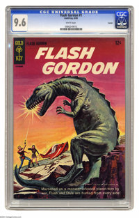 Flash Gordon #1 Curator pedigree (Gold Key, 1965) CGC NM+ 9.6 White pages. One-shot. Painted cover. This is the highest-...