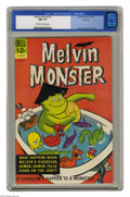 Silver Age (1956-1969):Humor, Melvin Monster #2 File Copy (Dell, 1965) CGC NM 9.4 Off-white to white pages. John Stanley cover and art. Overstreet 2004 NM...